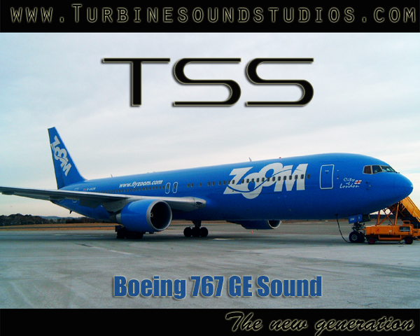 TURBINE SOUND STUDIOS - BOEING 767 GE SOUNDPACK