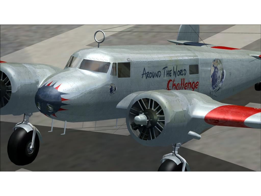 FIRST CLASS SIMULATIONS - AROUND THE WORLD IN 80 FLIGHTS