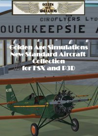 GOLDEN AGE - NEW STANDARD AIRCRAFT COLLECTION & POUGHKEEPSIE AIRPORT FSX P3D