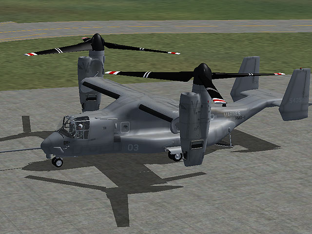 VIRTAVIA - MV-22 OSPREY FSX STEAM EDITION