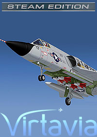 VIRTAVIA - F-106 DELTA DART FSX STEAM EDITION