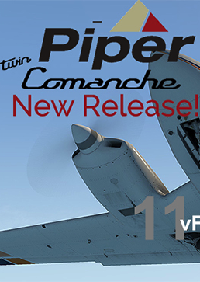 vFlyteAir - PIPER PA30 TWIN COMANCHE XP11