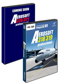 AEROSOFT - A320 FAMILY PROFESSIONAL BUNDLE P3D4
