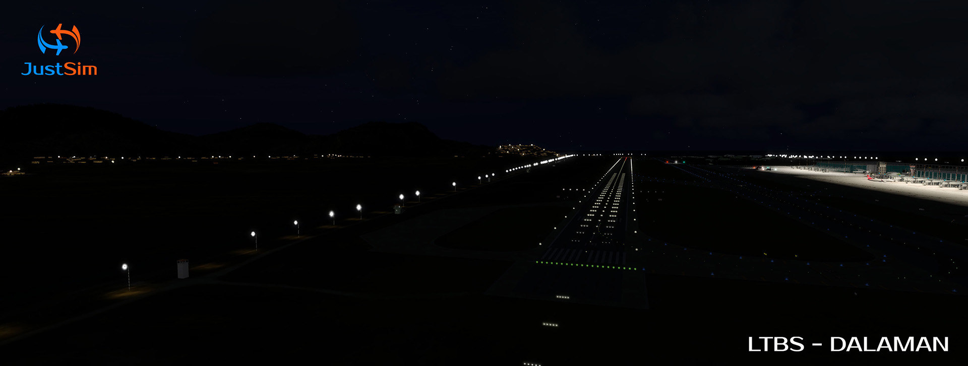 JUSTSIM - DALAMAN INTERNATIONAL AIRPORT P3D4