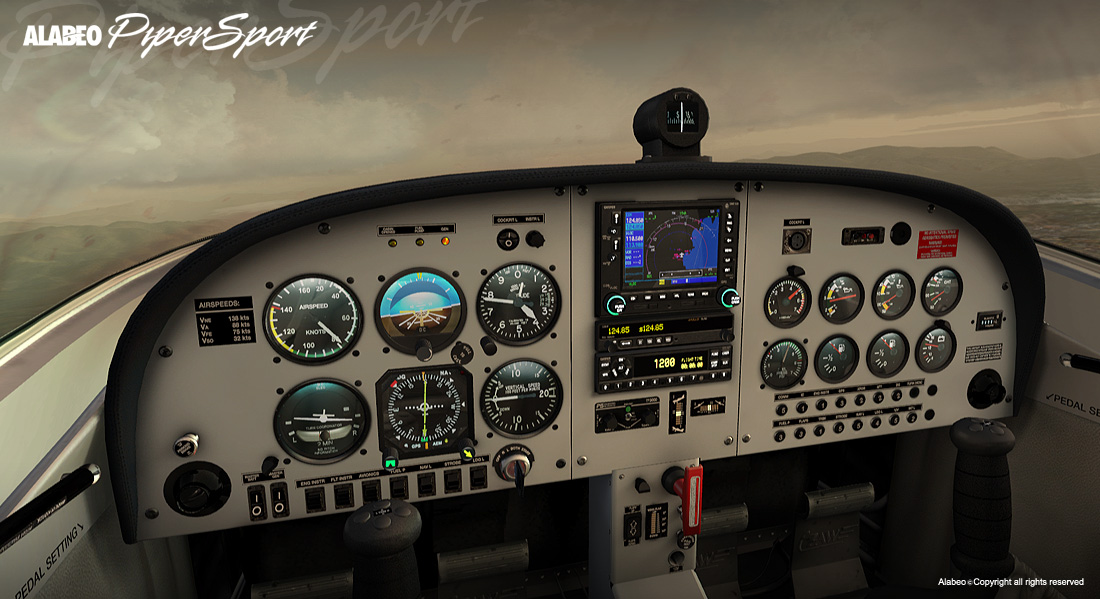 ALABEO - CRUZ PIPERSPORT FSX P3D