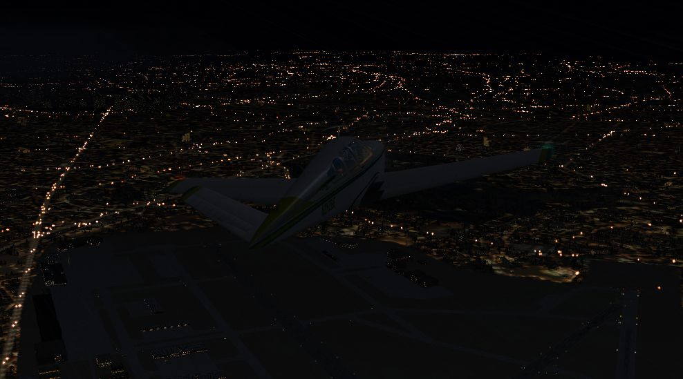 TABURET - FSX P3D NIGHT 3D EUROPE BASE PACK