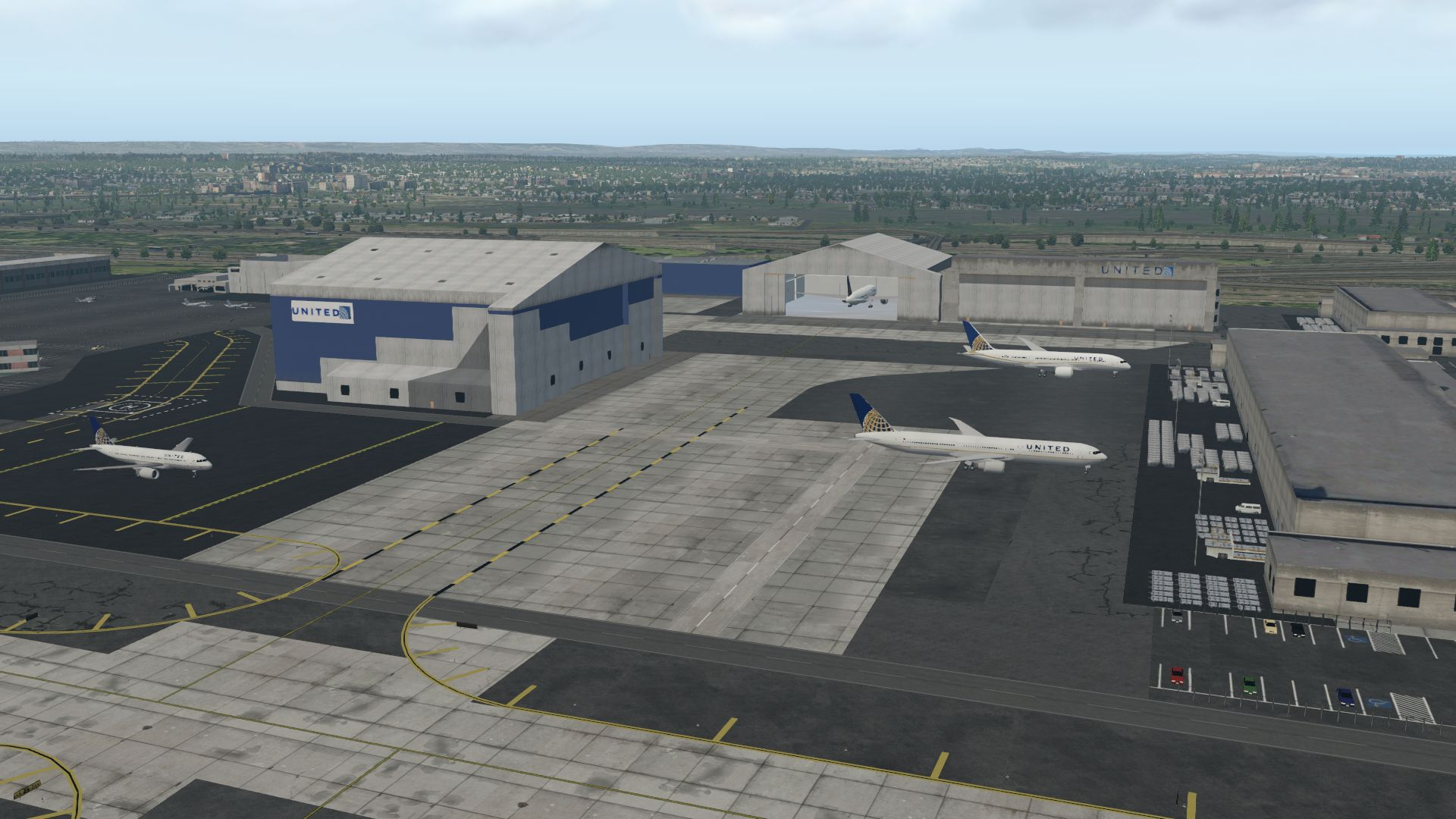 FINAL APPROACH SIMULATIONS - 美国-纽瓦克自由国际机场 KEWR X-PLANE 10/11