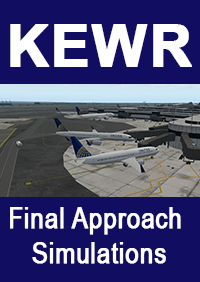 FINAL APPROACH SIMULATIONS - KEWR NEWARK LIBERTY INTERNATIONAL AIRPORT FOR X-PLANE