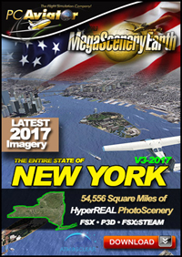 MEGASCENERYEARTH - NEW YORK V3 2017