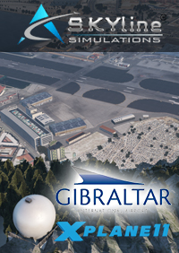 SKYLINE SIMULATIONS - LXGB GIBRALTAR INT. AIRPORT X-PLANE 11