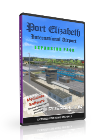 NMG - PORT ELIZABETH INTERNATIONAL AIRPORT P3D4
