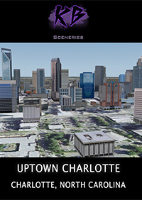 KALEEM BEATS SCENERIES - PHOTOREAL CHARLOTTE, NORTH CAROLINA FSX