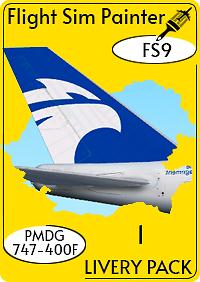 FLIGHT SIM PAINTER - LIVERY PACK FOR PMDG BOEING 747-400 FS2004