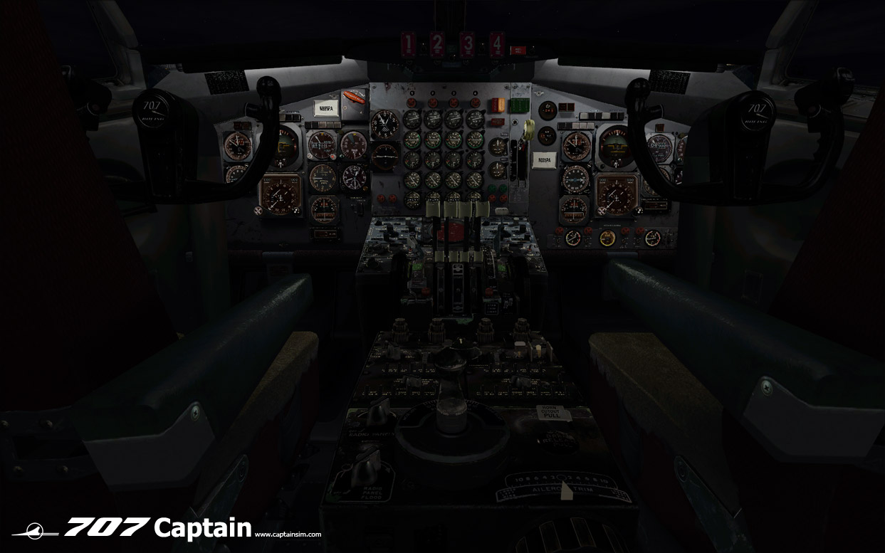 CAPTAIN SIM - 707 CAPTAIN