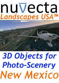 NUVECTA - LANDSCAPES USA™ NEW MEXICO FSX P3D