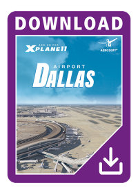 AEROSOFT - AIRPORT DALLAS / FORT WORTH X-PLANE 10/11