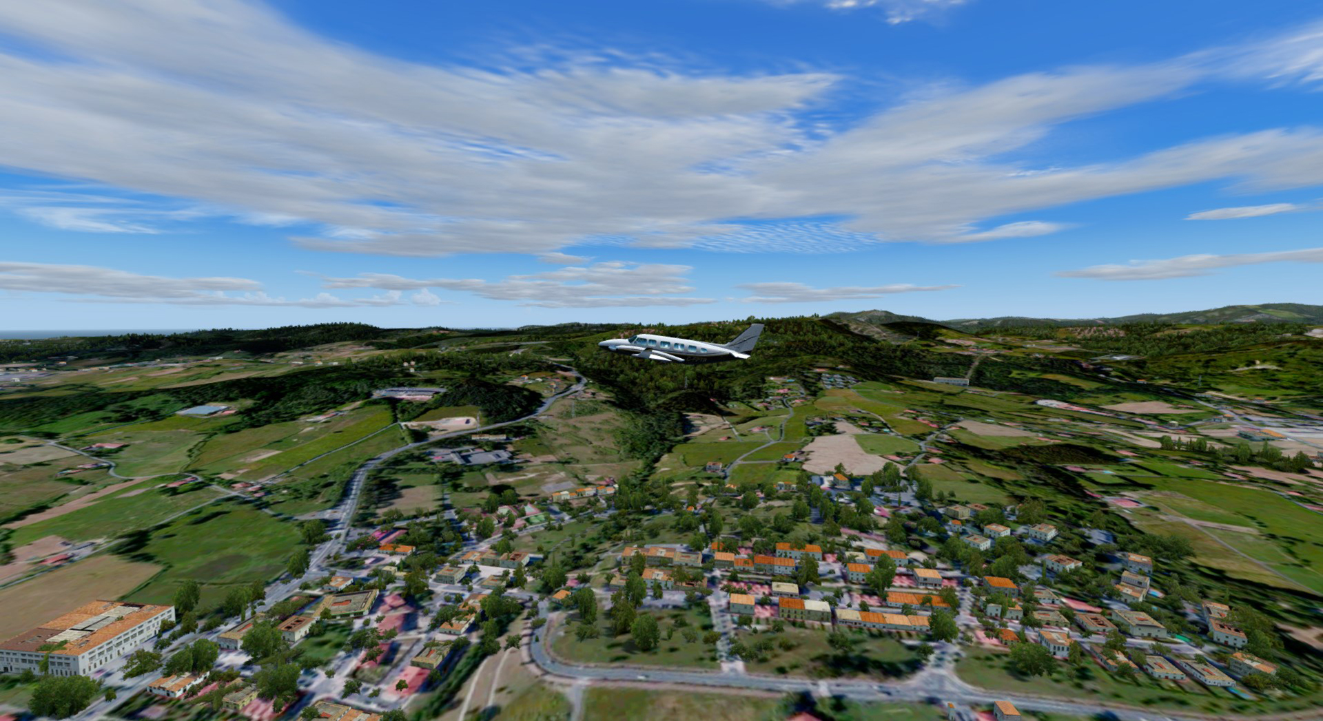 REALWORLD SCENERY - SPAIN 3D ENVIRONMENT 2017 FSX P3D
