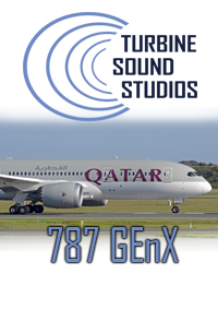 TURBINE SOUND STUDIOS - BOEING 787 GENX HD SOUNDPACK FS2004