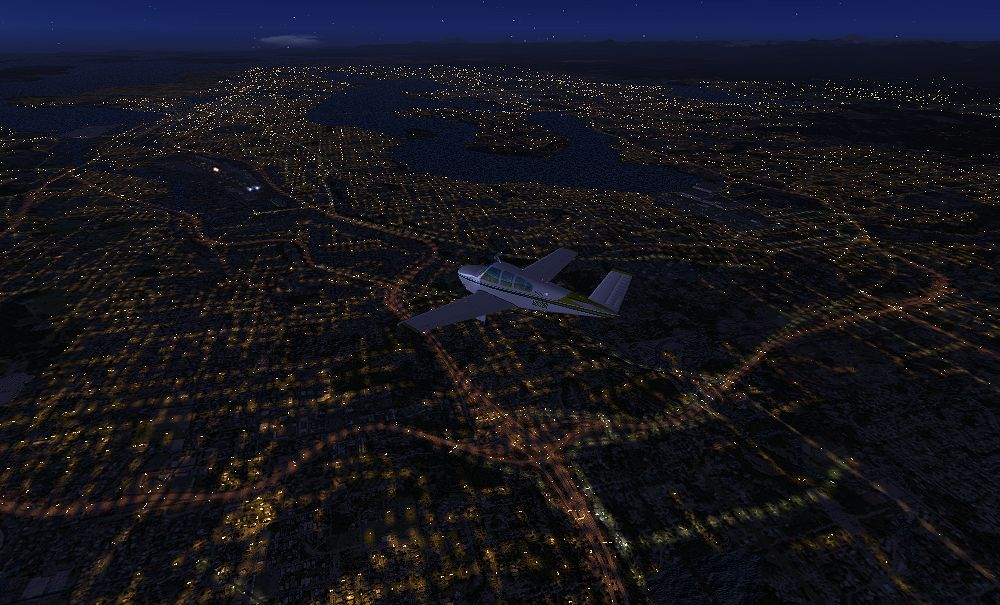 TABURET - FSX P3D NIGHT 3D WASHINGTON OREGON
