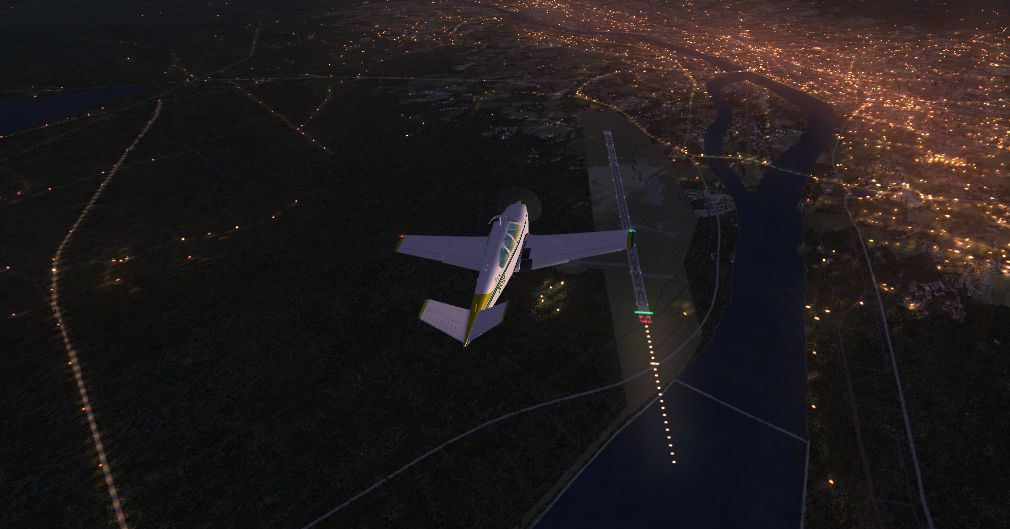 TABURET - FSX P3D NIGHT 3D SWEDEN
