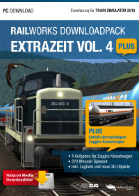 RAILWORKS DOWNLOADPACK - EXTRAZEIT VOL. 4 PLUS - ERWEITERUNG FÜR TRAIN SIMULATOR 2016