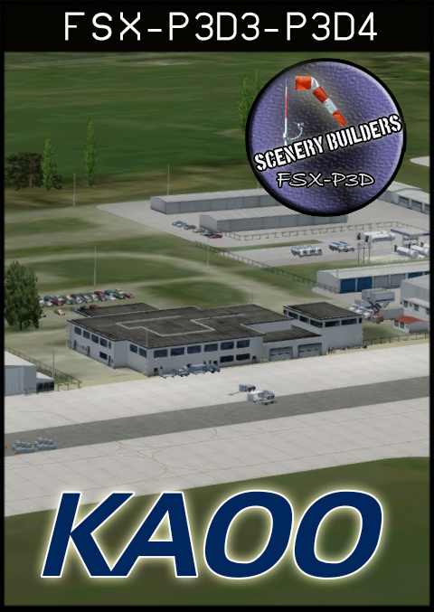 FSXCENERY -   KAOO ALTOONA BLAIR COUNTY AIRPORT FSX P3D