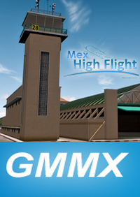 MEX HIGH FLIGHT - GMMX MARRAKECH MENARA INTL AIRPORT P3DV4