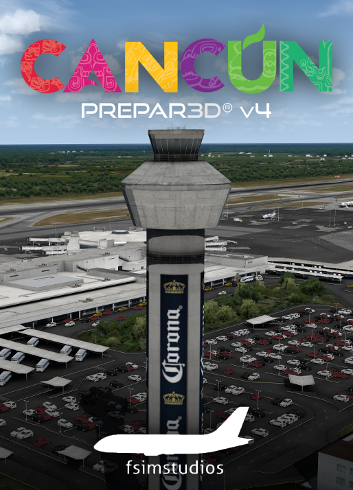 FSIMSTUDIOS - CANCUN INTERNATIONAL AIRPORT MMUN P3D