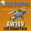 SONIC SOLUTIONS - AW109 SOUNDPACK FSX