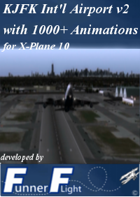 FUNNER FLIGHT - KJFK V2 WITH 1000+ ANIMATIONS X-PLANE 10