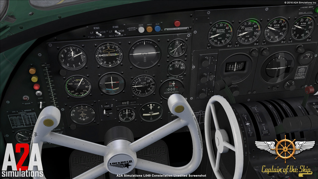 A2A SIMULATIONS - CAPTAIN OF THE SHIP 049 CONSTELLATION P3D ACADEMIC