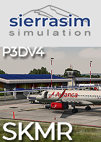 SIERRASIM SIMULATION - SKMR LOS GARZONES INTERNATIONAL AIRPORT P3D4