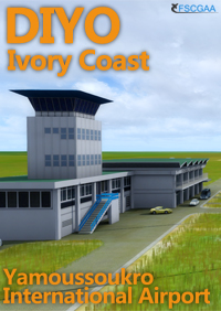 IVORY COAST-YAMOUSSOOUKRO INTERNATIONAL AIRPORT DIYO P3D