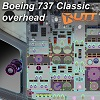 UTT - BOEING 737 CLASSIC OVERHEAD SOURCE MODEL FOR 3DS MAX