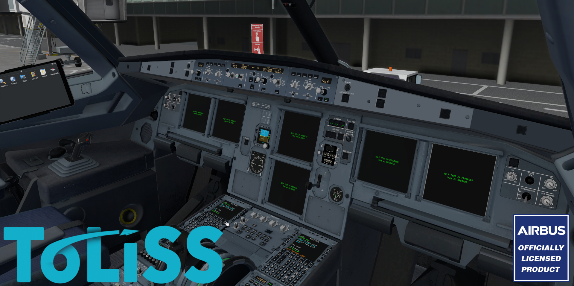 TOLISS INC - 319 X-PLANE 10/11, OFFICIALLY LICENSED BY AIRBUS
