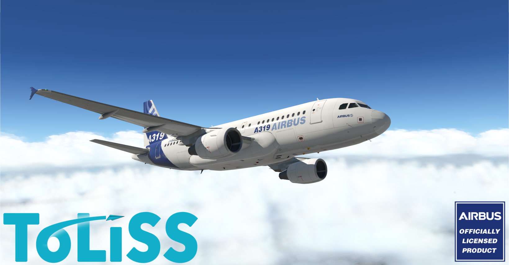 TOLISS INC - A319 X-PLANE 10/11, OFFICIALLY LICENSED BY AIRBUS