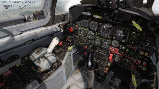 SIM SKUNK WORKS - FIAT/AERITALIA G91 A/R/PAN FOR P3D  V4.X