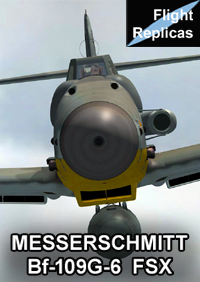 FLIGHT REPLICAS - MESSERSCHMITT BF-109G-6 FOR FSX, AND P3D UP TO V3