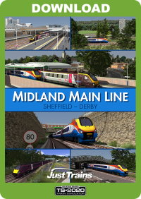 JUSTTRAINS - MIDLAND MAIN LINE SHEFFIELD - DERBY TS2020