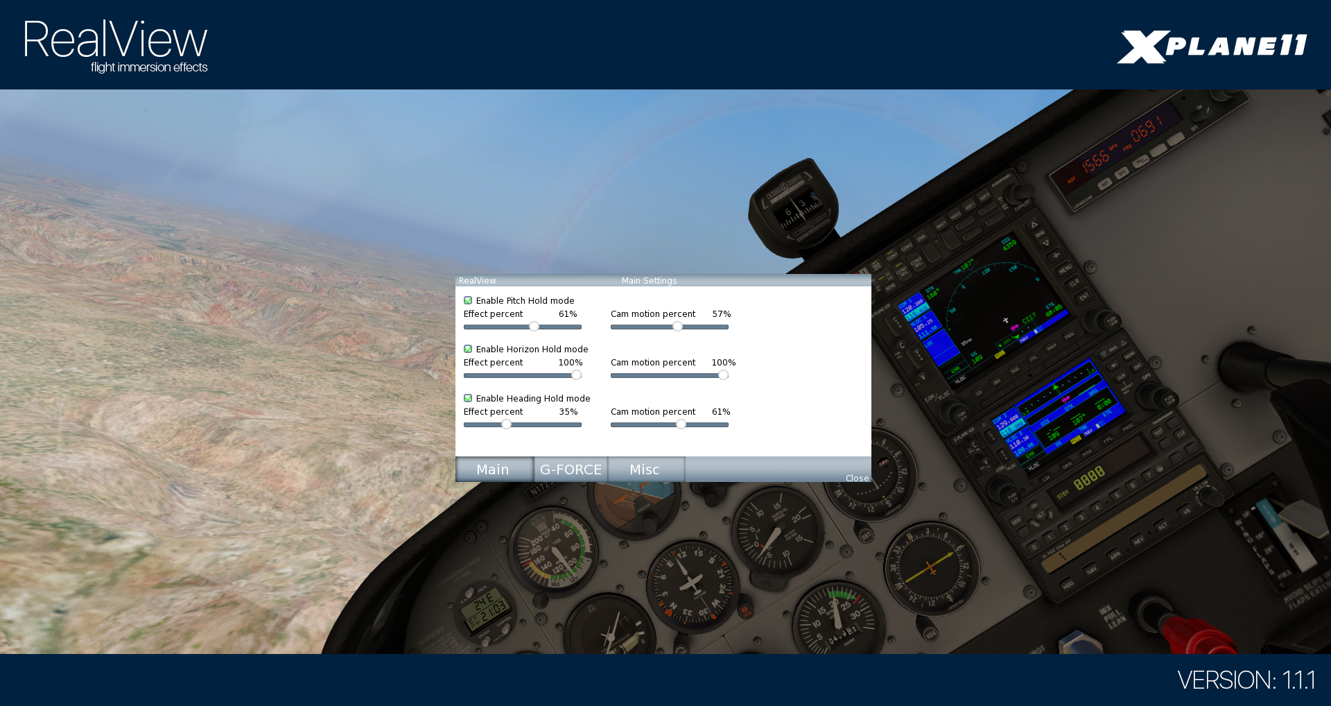 HST - REALVIEW FOR X-PLANE 11