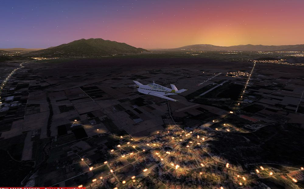 TABURET - FSX P3D NIGHT 3D GREECE TURKEY CYPRUS