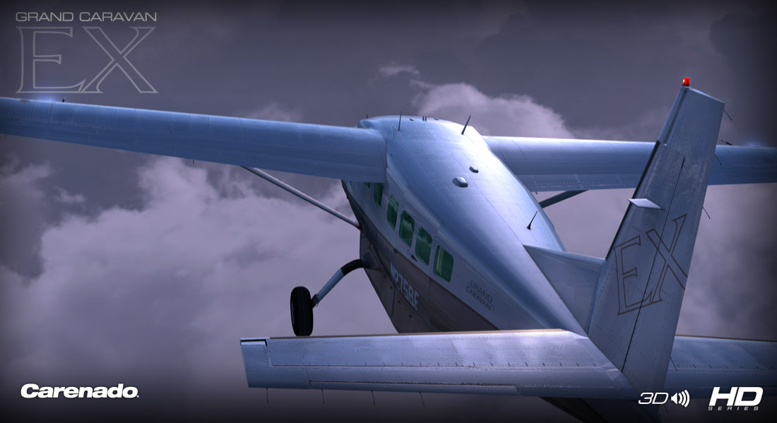 CARENADO - C208B GRAND CARAVAN EX HD SERIES FSX P3D V2