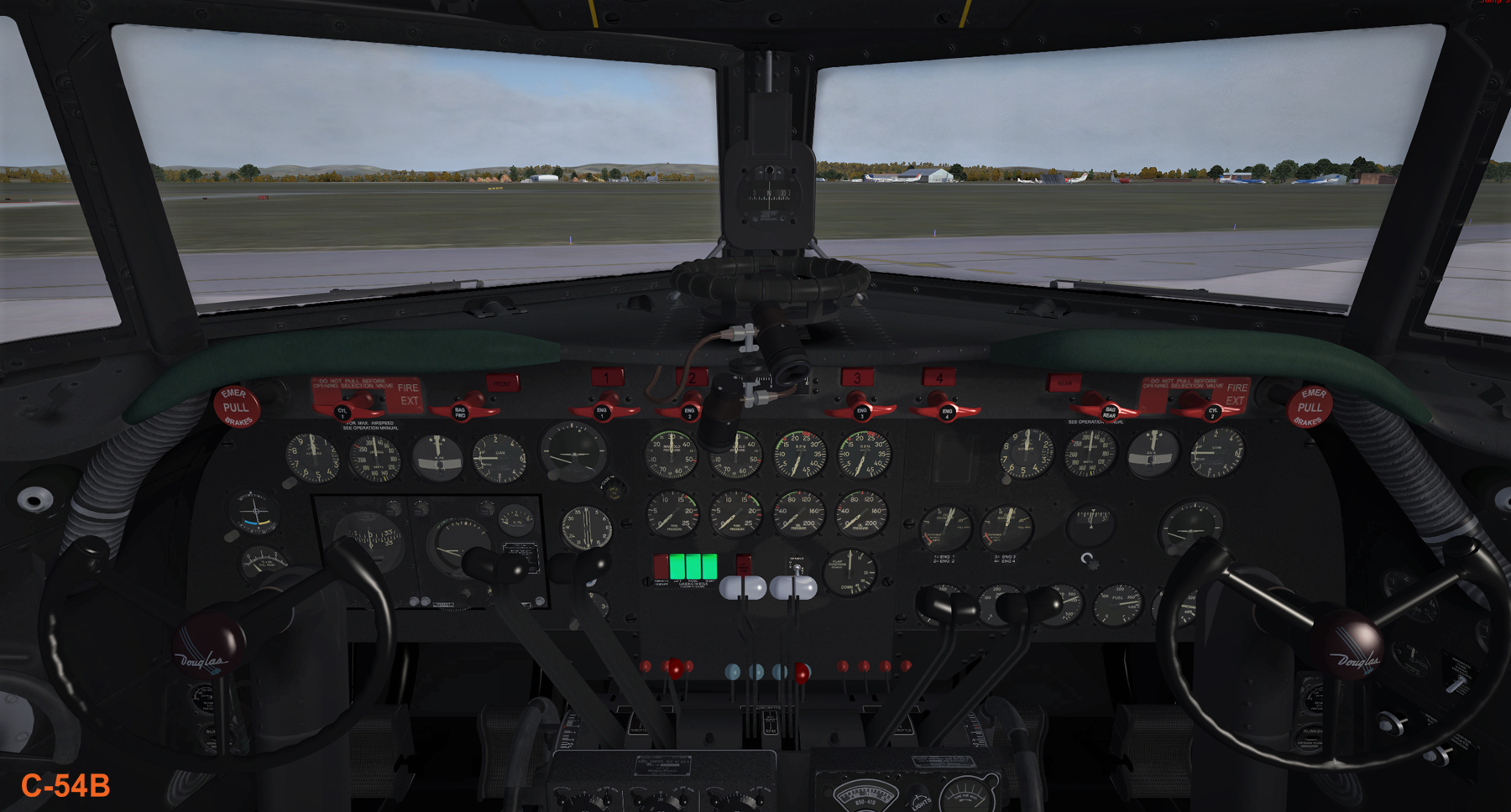 FLIGHT REPLICAS - DOUGLAS DC-4/C-54 SKYMASTER AND AVIATION TRADERS ATL98 CARVAIR FSX P3D
