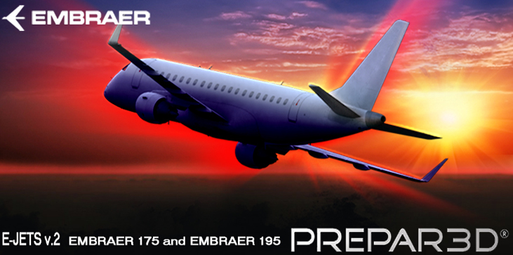 FEELTHERE - EMBRAER E-JETS V2 - EMBRAER 175 AND 195 P3D4