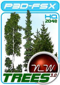 NATURAL WORLD FS TREES FSX P3D