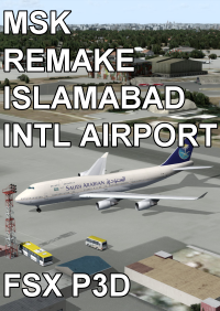 MSK - REMAKE ISLAMABAD INTERNATIONAL AIRPORT FSX P3D