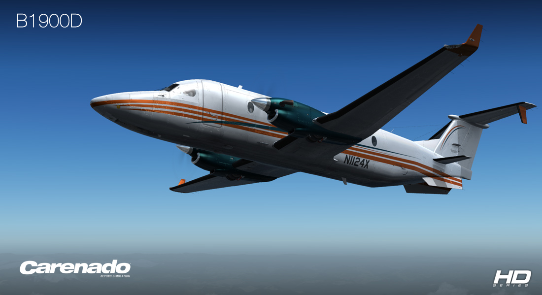 CARENADO - B1900D HD SERIES FSX P3D