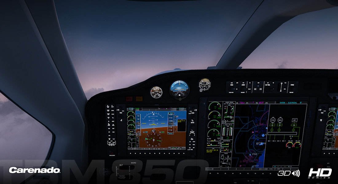 CARENADO - TBM 850 HD SERIES FSX P3D V2