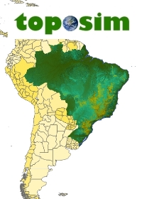 TOPOSIM - CONTINENTS - SOUTH AMERICA - BRAZIL BUNDLE
