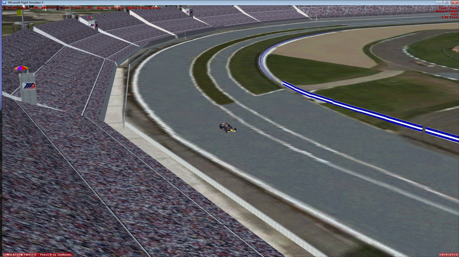 AUTO SPORTS SIMULATIONS - INDY 4 FSX